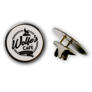 Wolfe's Cafe & Market Lapel Pin